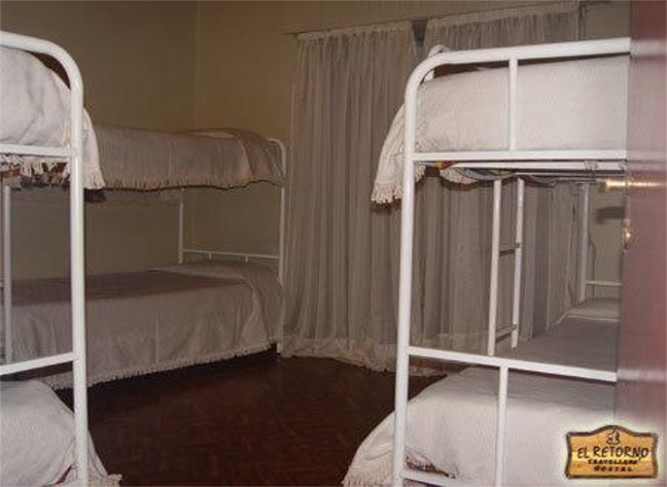 Single bed in mixed room